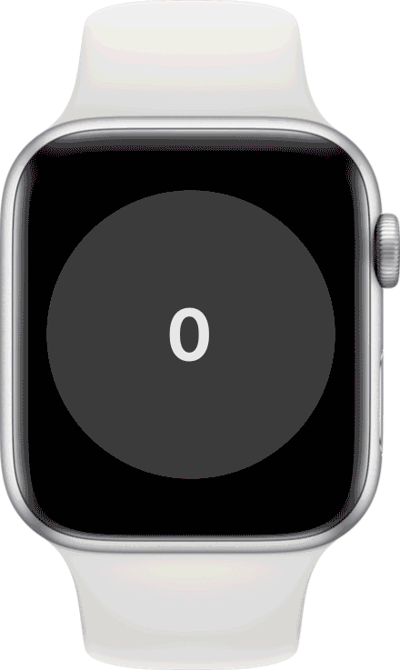 Apple watch with Attain by Aetna logo